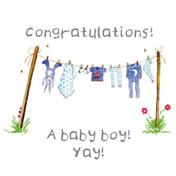 Baby Boy Digital Card
