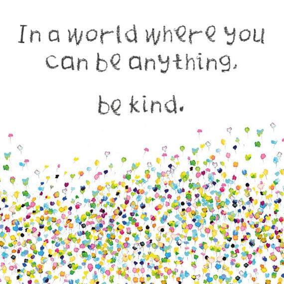 'Be Kind' Digital Card
