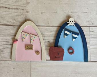 Magical Fairy Door, Childrens Bedroom Decor, Playroom, Nursery