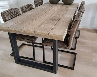 Cheap Reclaimed Wood Furniture Intended Etsy More Colors Modern Reclaimed Wood Table Hamerwoodworks Wood Table