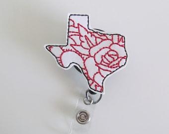 372c8cb5869f Texas Flower Badge Reel