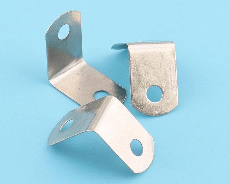 corner protectors jewelry box corner,metal box corners desk corner,silver color 15*15mm