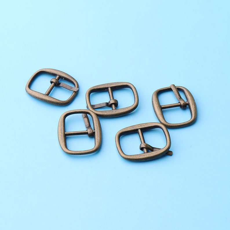 bags or sewing bronze color for inner 10mm 1050pcs Belt buckle Metal pins Buckles Small buckles for shoes