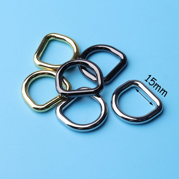 Green D-ring Webbing Bottle Buckle D Ring Buckles Bags DIY Accessory