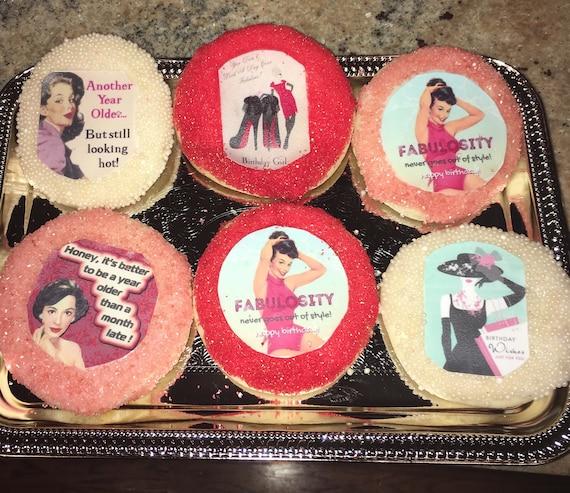 Custom Happy Birthday Cookies