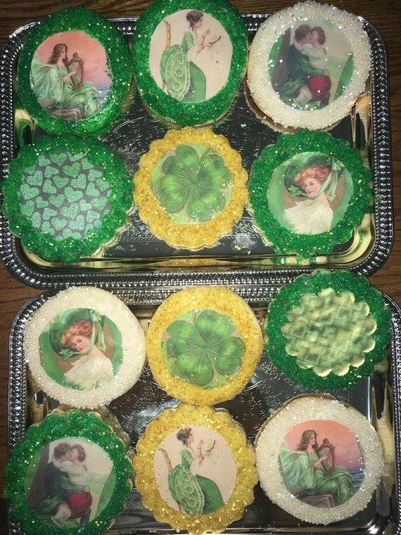 Saint Patricks Day Custom Cookies