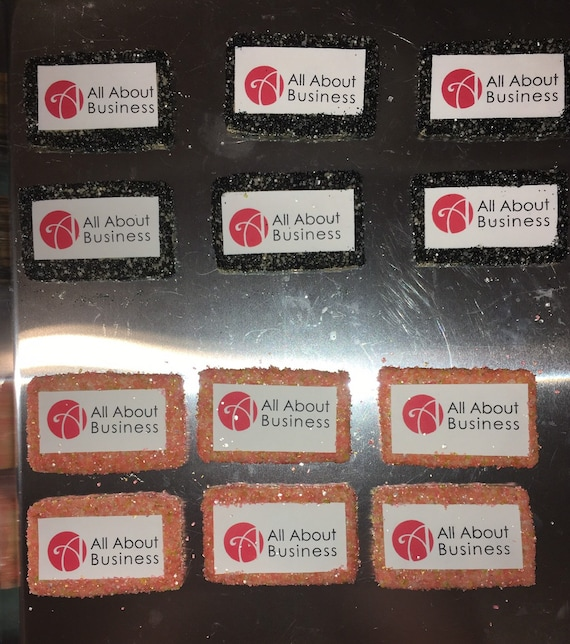 All About Business Logo Cookies