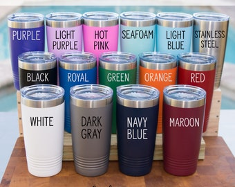 Custom Engraved Tumbler 20 oz Vacuum Insulated Tumbler Corporate Gift Personalized Tumbler Laser Engraved Cup Stainless Steel Tumbler