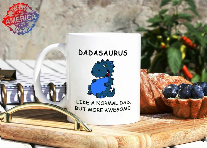 Dadasaurus Like A Normal Dad But More Awesome Mug