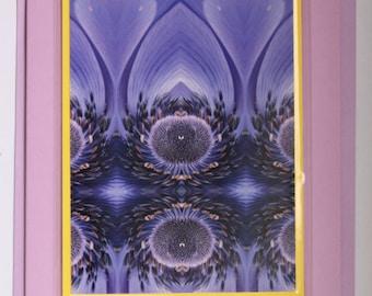 Purple Paradise,flower card