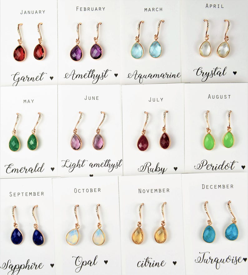 birthstone family charm Mother of the Bride gift set,Mother of the groom gift set,Mother in law gift set,mother in law wedding gift set