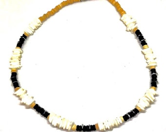 Mixed Pu-ca Shell Necklace