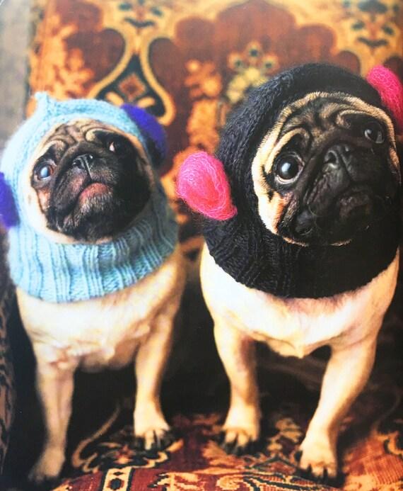 Dogs Balaclava All Sizes Knitting Pattern Etsy