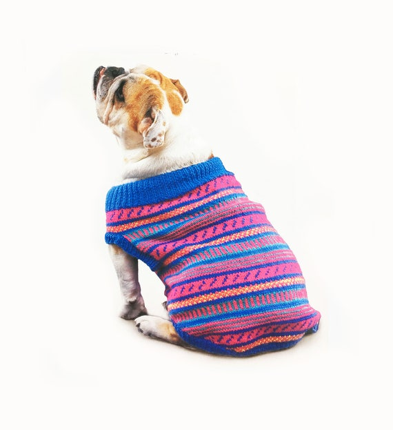 Dog Sweater All Sizes Knitting Pattern Etsy