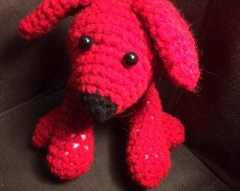 Crocheted Dog Stuffed Animal