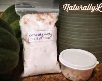 Salt and Mineral Soak