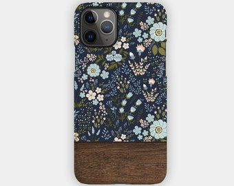 NAVY SCATTERING Case   For Apple iPhone 13, iPhone 13 Pro, iPhone 12, iPhone 12 Pro, iPhone 11, iPhone SE, iPhone Xr, iPhone Xs, iPhone X