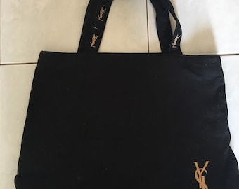 572ce7a6d4 Vintage Yves Saint Laurent YSL Tote Bag