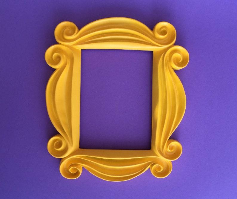 Friends Peephole Frame  Replica  Home Decor  Sitcom  Gift image 0