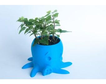 Octopus Planter | Succulent | Succulent Planter | Home Decor | Office Decor | Home and Living | Planter | Air Plant | Garden | Cute | Gift