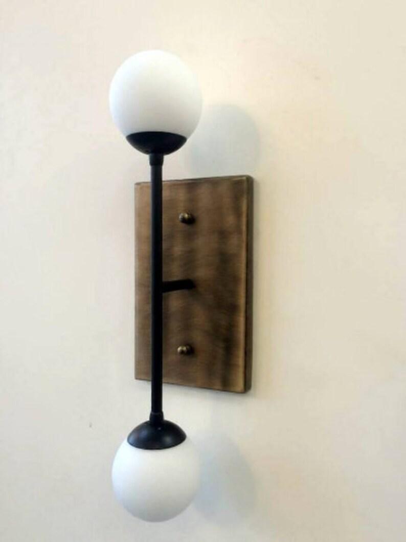 ATHOS Wall sconce lampada in industriale minimo stile restauro AdQha0W1