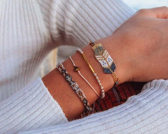 Bead bracelet  Handmade bracelet  Ethical jewelry  Boho jewelry  Bead bracelet pattern  Boho chic bracelet  Boho Jewellery  Boho