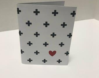 Plus Heart / Plus Love Card