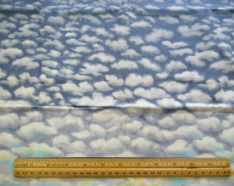 Blue Sky and White Clouds - Balston Hercules Group -  1/2 Yard  B-1/2-23