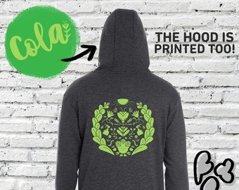 Cola Hoodie - Cannabis, weed, pot, themed
