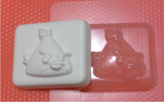 the Creative the Angry birdiebath bomb molds the Form for chocolate Soap Soap mold the Icetray