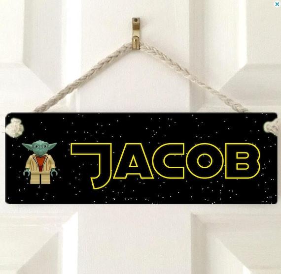Star Wars Kylo Ren Personalised Kids/' Bedroom Door Plaque Sign *ANY MESSAGE*
