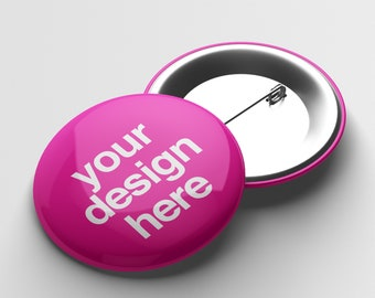 Design Your Own Button Badge Pin