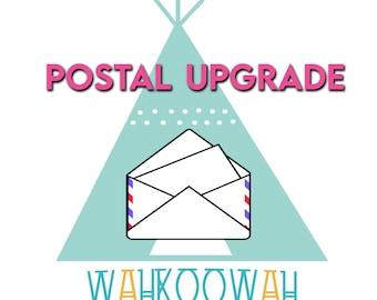 Postal Upgrade Option