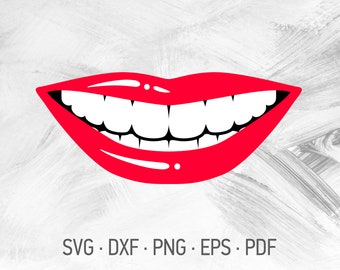 Smile Svg Etsy