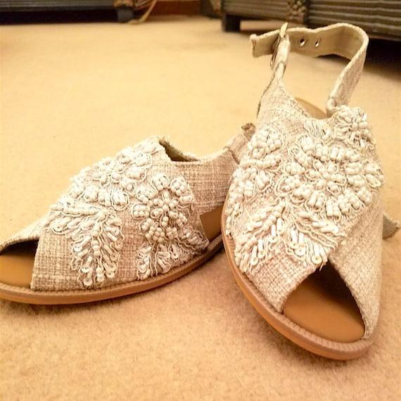 9 9.5 Womens sandals Pakistani