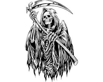 Grim Reaper Etsy
