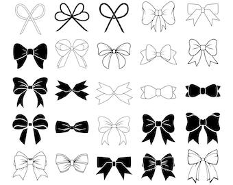 bow clipart etsy rh etsy com bow clipart free bow clip art black and white