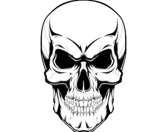 skull clipart etsy rh etsy com skull clipart pirate skull clipart vector