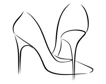 High Heels Logo Etsy