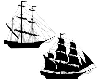 Sailboat, Sailing boat, Boat, Silhouette,SVG,Graphics,Illustration,Vector,Logo,Digital,Clipart