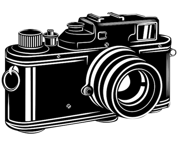vintage camera svg camera svg camera clipart silhouette etsy rh etsy com old camera clipart old camera clipart