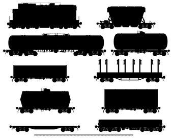 Train, Wagon, Freight, SVG,Graphics,Illustration,Vector,Logo,Digital,Clipart