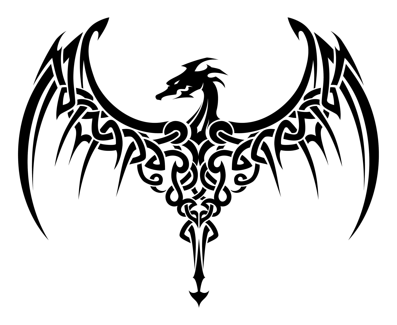 Celtic Dragon Dragon Symbol Irish Etsy