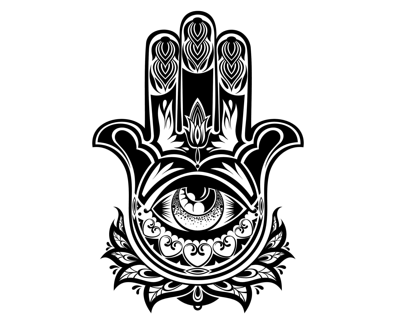 Hand Of Fatima Hamsa Hand Hand Hamsa Symbol Etsy