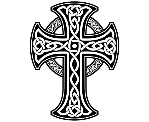 Celtic Cross Celtic Cross Symbol Irish Etsy
