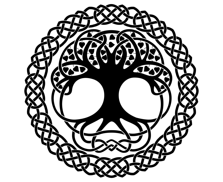 Celtic Tree Tree Of Life Symbol Irish Celtic Etsy