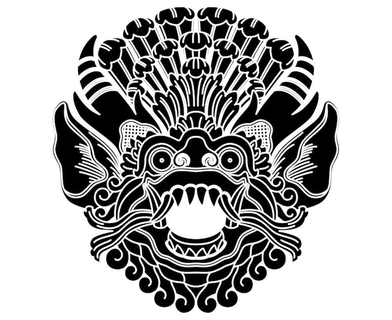 Barong Bali Balinese Mask Etsy