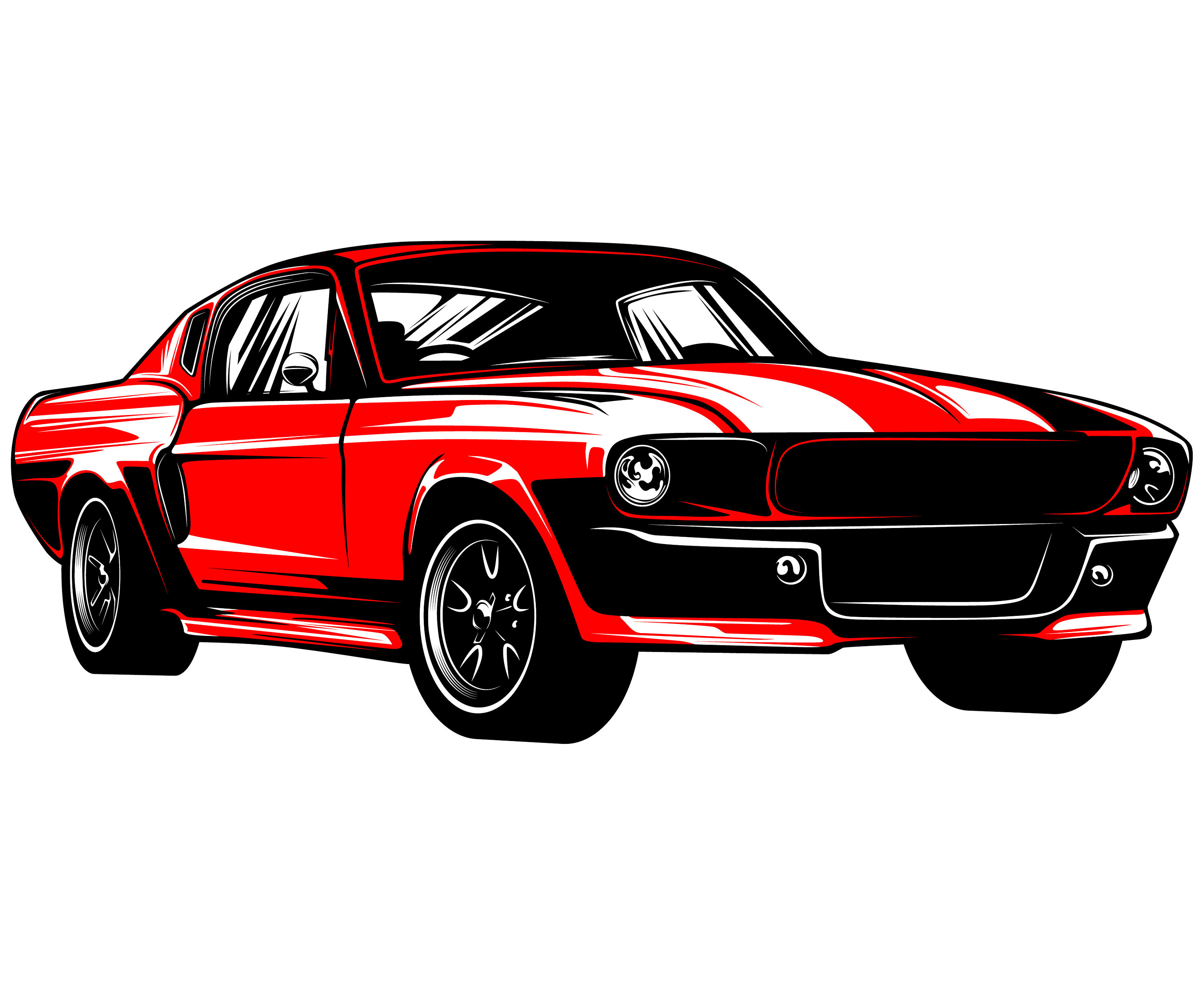 Muscle Car Christmas Cards Www Topsimages Com
