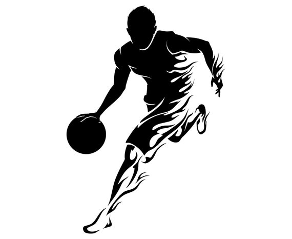 Basketball Player Etsy