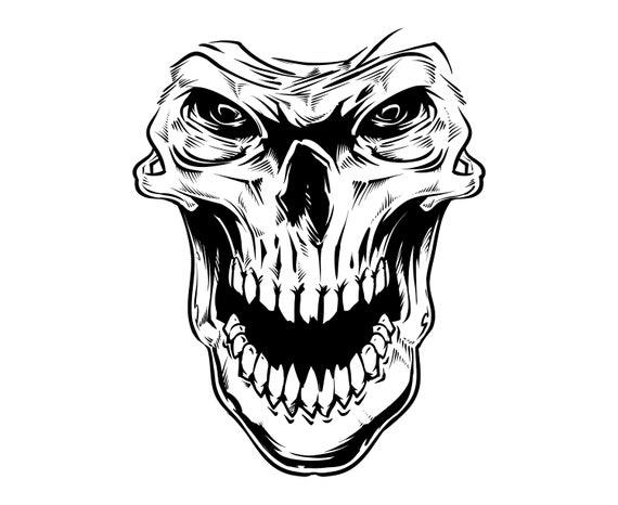 Skull Death Grim Reaper Grim Etsy